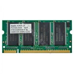 Hynix 256MB DDR 266MHz notebook memória (HYMD232M646A6-H)