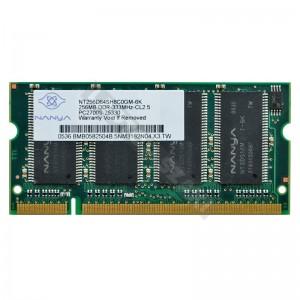 Nanya 256MB DDR 333MHz notebook memória (NT256D64SH8C0GM-6K)