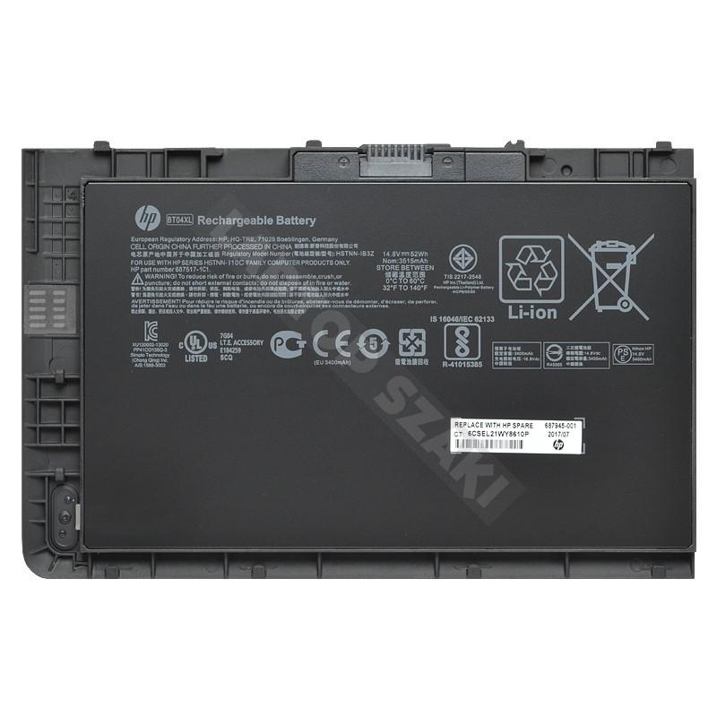 0844328d10e8 687945-001 14.8V 3515mAh 52Wh gyári új laptop akkumulátor