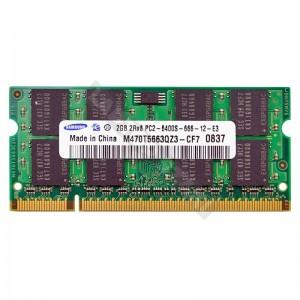 Samsung 2GB DDR2 800MHz használt notebook memória (M470T5663QZ3-CF7)