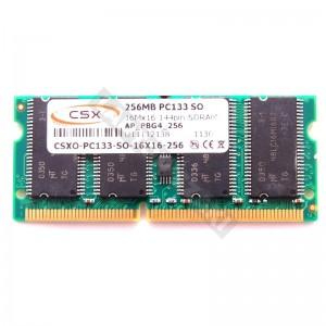 CSX 256MB SD 133MHz  notebook memória