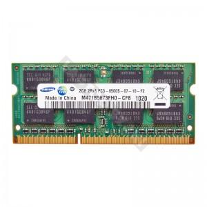 Samsung 2GB DDR3 1066MHz használt, notebook memória (M471B5673FH0-CF8)