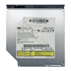 HP TS-L632 IDE laptop DVD író