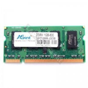 Asint 1GB DDR2 800MHz laptop memória (SSY2128M8-JGE3B)