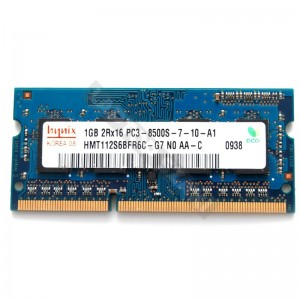 Hynix 1GB DDR3 1066MHz notebook memória (HMT112S6BFR6C)