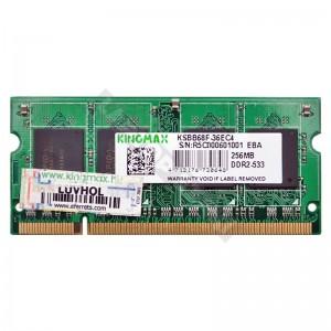 Kingmax 256MB DDR2 533Mhz laptop memória (KSBB68F-36EC4)