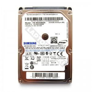 "Samsung HN-M500MBB 500GB SATA 2,5"" gyári új laptop winchester"