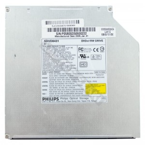 Philips SDVD8431 IDE notebook DVD író