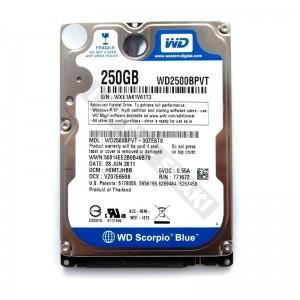 "WD WD2500LPVX 250GB SATA 2,5"" gyári új laptop winchester"
