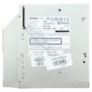 Teac DV-28E használt IDE notebook CD író