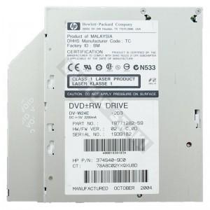 HP 374540-9C0 használt IDE notebook DVD író