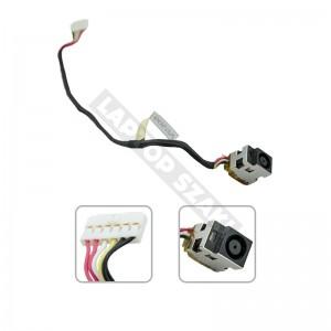 533465-001 használt DC tápaljzat + kábel
