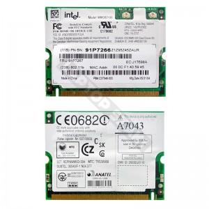 Intel WM3B2100 802.11b mini PCI wifi kártya