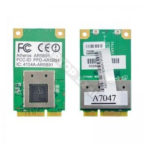 Atheros 4104A-AR5B91 802.11b/g mini PCI wifi kártya