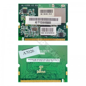 Broadcom WL-120G 802.11b/g mini PCI WIFI kártya