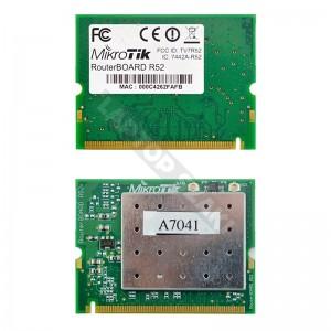 MikroTik 7442A-R52 802.11a/b/g mini PCI wifi kártya