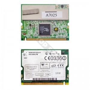 6833B-1A  802.11b/g mini PCI wifi kártya