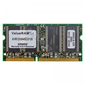 Kingston 128MB SD 133Mhz notebook memória