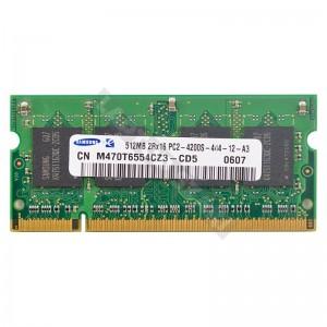 Samsung 512MB DDR2 533MHz laptop memória