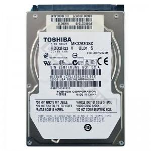 """Toshiba MK3263GSX 320GB SATA 2,5"""" használt laptop winchester"""