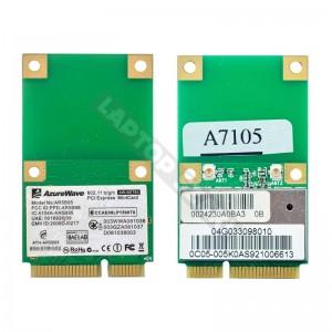 AzureWave AW-NE785 802.11b/g/n mini PCI-E wifi kártya