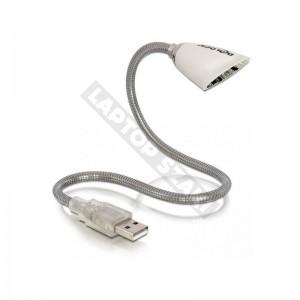 Delock 46234 USB LED-lámpa, fehér