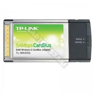 TP LINK TL-WN310G 54Mbps vezeték nélküli PCMCIA kártya