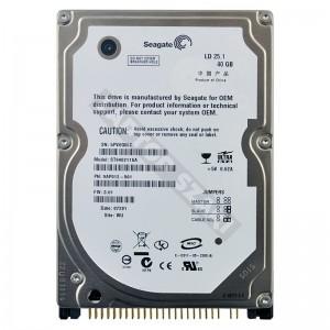 "Seagate ST9402115A 40GB IDE 2,5"" használt laptop winchester"