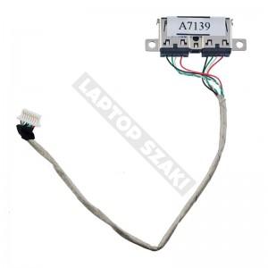 HP Compaq 6730s, 6735s használt USB panel + kábel