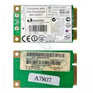 459339-004 HP 802.11b/g mini PCI-E wifi kártya