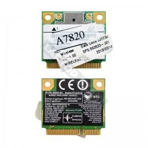 593533-001 HP 802.11b/g/n mini PCI-E wifi kártya