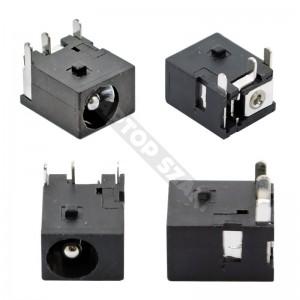 DC tápaljzat 004 (5.5x2.5mm)