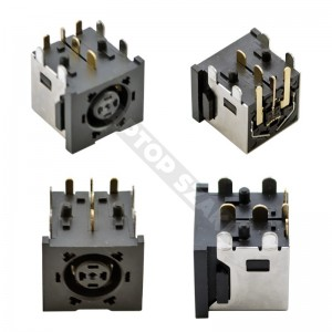 DC tápaljzat 088 (7.4x5.0mm - Center Pin)