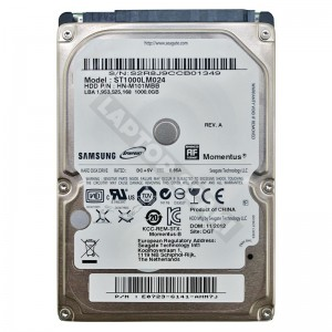 "Samsung ST1000LM024 1000GB SATA 2,5"" gyári új laptop winchester"