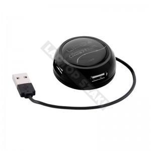 ModeCom UFO 4 - USB hub, fekete
