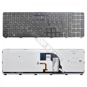 HP Pavilion dv7-7000, dv7-7100 gyári új magyar, háttérvilágításos laptop billentyűzet
