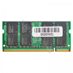 Epida 2GB DDR2 800MHz használt notebook memória (GU332G0ALEPR8H2F)