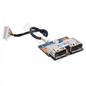 48.4CG04.011 használt USB panel + kábel