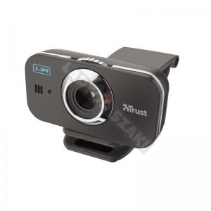 Trust 17342 Cuby Pro titanium webkamera, fekete