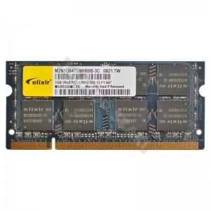 Elixir 1GB DDR2 667MHz laptop memória