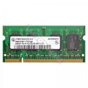 Infineon 256MB DDR2 400Mhz laptop memória (HYS64T32000HDL-5-A)