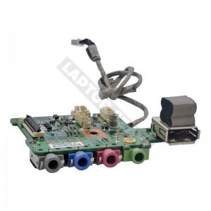 607-1671C-01S használt USB és audio panel + kábel