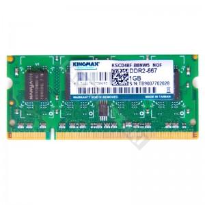 Kingmax 1GB DDR2 667MHz notebook memória (KSCD48F-B8NW5)