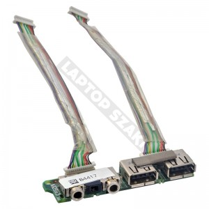 382677-001 használt USB és audio panel + kábel