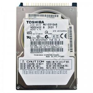 """Toshiba MK1031GAS 100GB IDE 2,5"""" használt laptop winchester"""
