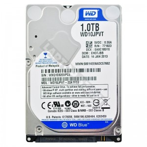 "WD WD10JPVT 1000GB SATA 2,5"" gyári új laptop winchester"