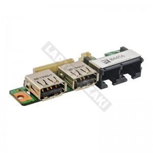 MS-16352 használt USB + LAN panel