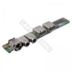 607-1351N-01S használt DC + audio + USB panel