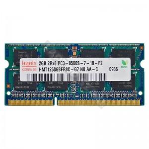 Hynix 2GB DDR3 1066MHz gyári új notebook memória (HMT325S6BFR8C)