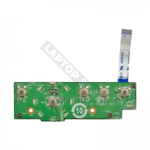 MS-163AA használt bekapcsoló panel + kábel